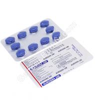 Aurogra 100 Mg Tablet