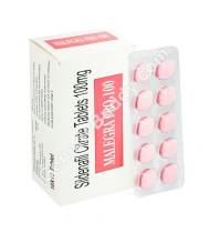Malegra Professional 100 Mg Tablet