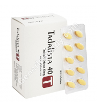 Tadalista 40 Mg Tablet