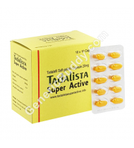 Tadalista Super Active 20 Mg Capsule